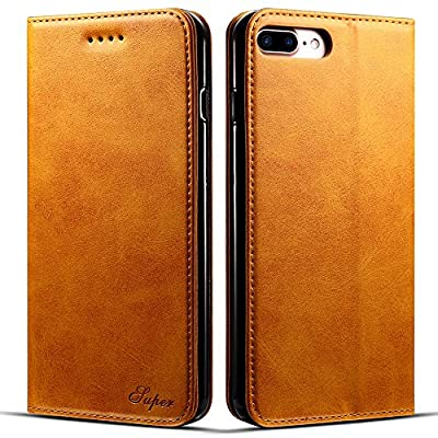 Leather Wallet Phone Case with Card Holder Kickstand Protective Folio Flip Cover for Iphone/Samsung