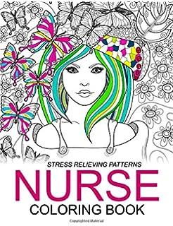 Amazon.com: Swear Time ! Nurse Coloring Book: An Swear word adutl ...
