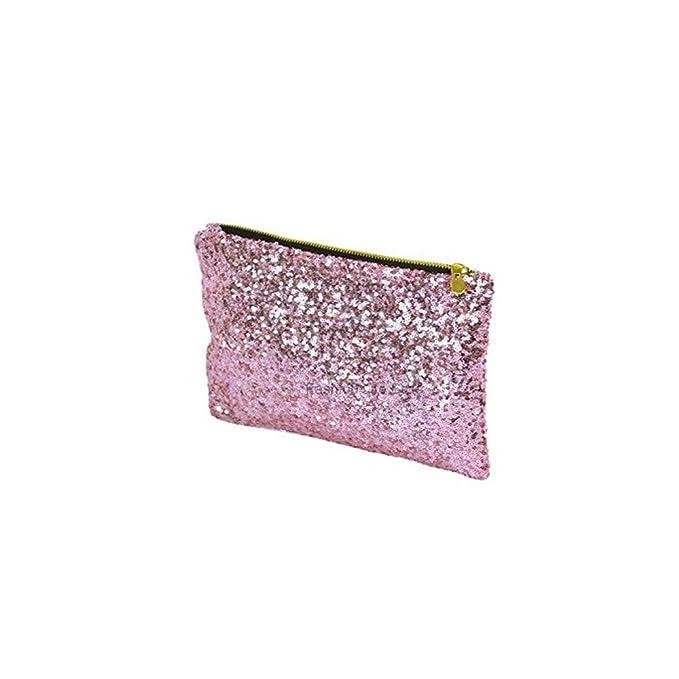 Ro Rox - Cartera de mano para mujer Rosa rosa pastel: Amazon.es: Ropa y accesorios