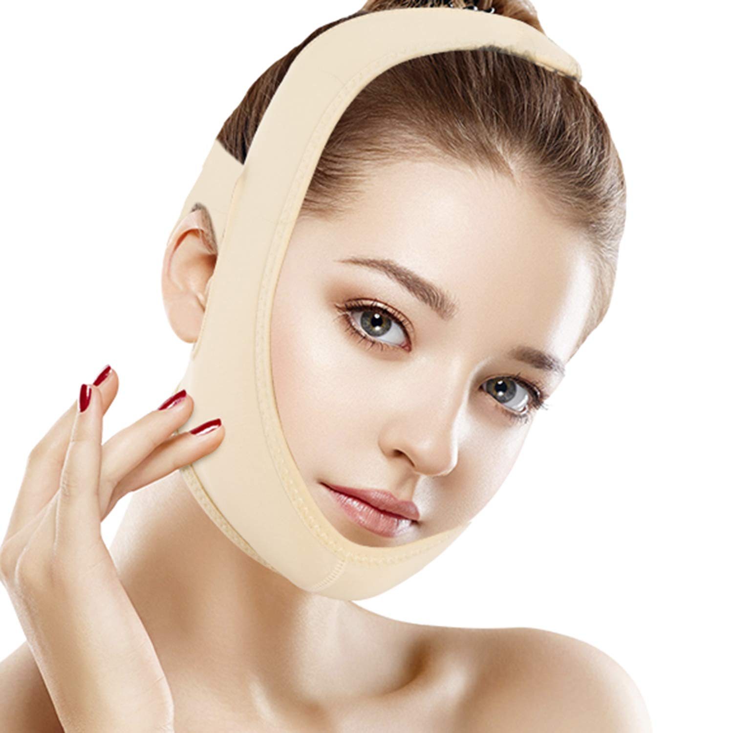 Flo Fashion Anti Wrinkle Face Mask - Nude Colour (Large) ZodiaK