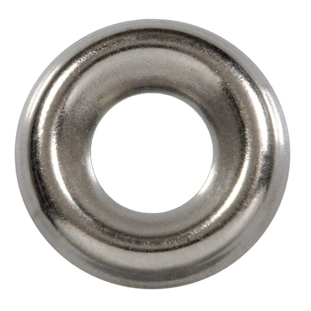1000 Qty #14 Stainless Steel Countersunk Finish Washers | 1/4'' 304 SS Finishing Cup (BCP768)