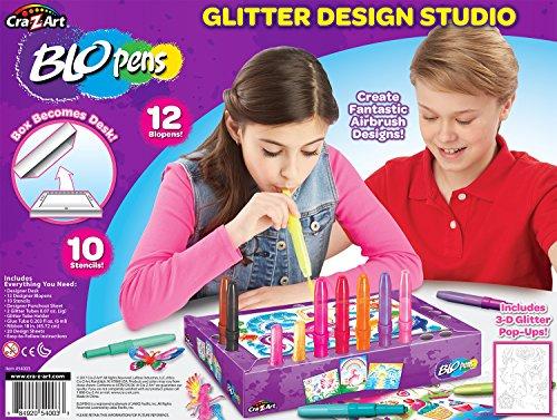 Cra-Z-Art Blo Pens Studio Design Station Airbrush Craft Kits