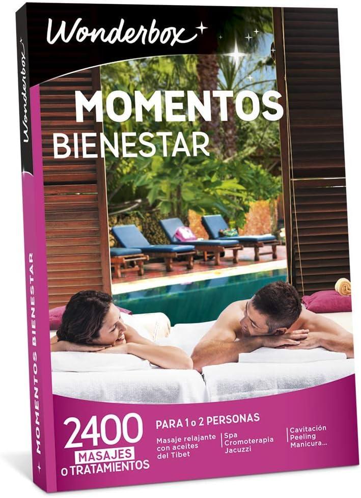 WONDERBOX Caja Regalo - Momentos Bienestar - 2.400 experiencias para Dos Personas