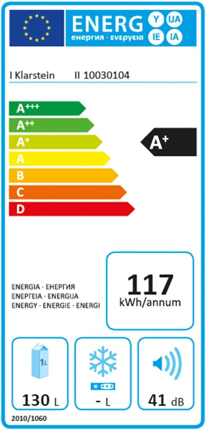 Klarstein Coolzone 130 - Nevera-congelador combi, Nevera empotrada ...
