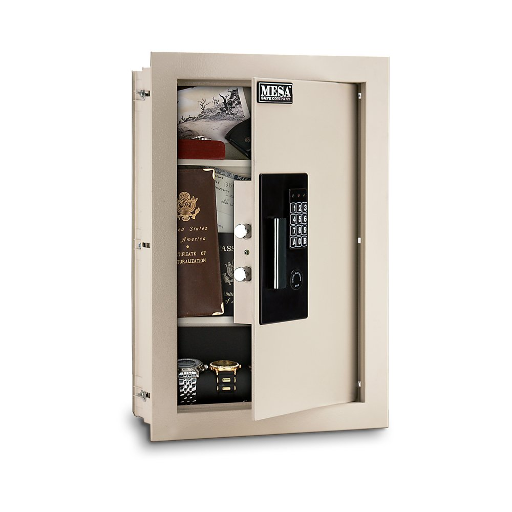 Mesa Safe Company Model MAWS2113E Electronic Wall Safe, Cream by Mesa Safe (Image #3)