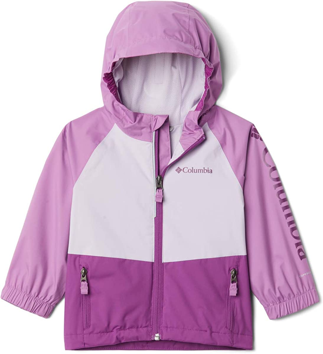 Extended Fit Columbia Kids /& Baby Rain Scape Jacket Waterproof /& Breathable
