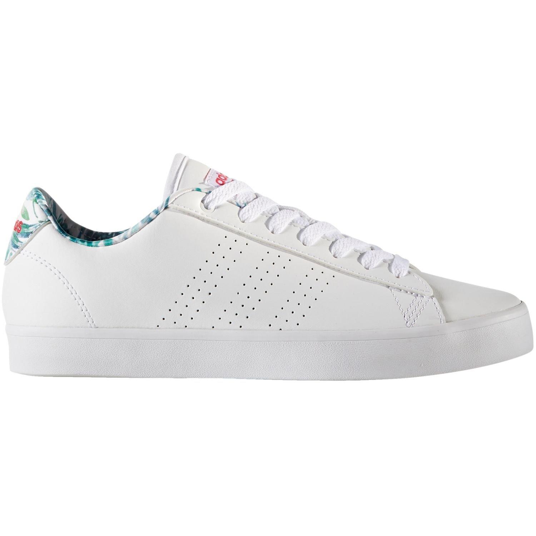adidas Damen CF Daily QT CL W Fitnessschuhe, Weiszlig;  40 EU|WHITE/PINK