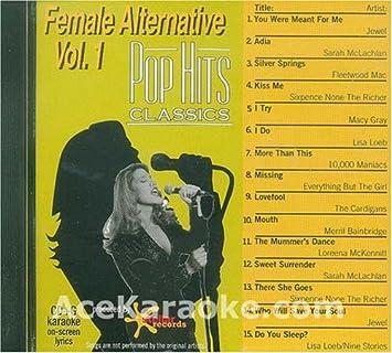 Jewel, Fleetwood Mac, Sarah McLachan, Sixpence None the Richer, Macy