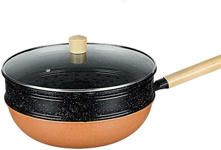 Sartén De 32 Cm, Aluminio Fundido Antiadherente Classic, Apta Para Todo Tipo De Cocinas Incluida Inducción Aptas Para Lavavajillas,Marrón,32cm