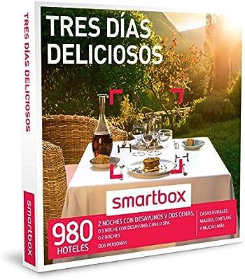 Smartbox 2016. Pack Experiencia Estancia Gastronómica Tres Días Delicioso: Amazon.es: Deportes y aire libre