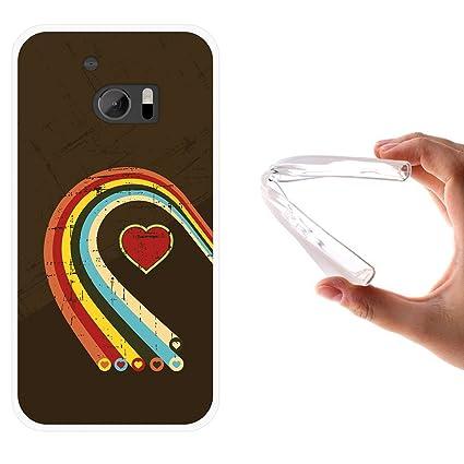 WoowCase Funda HTC 10, [HTC 10 ] Funda Silicona Gel Flexible ...