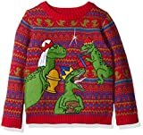Blizzard Bay Boys' Three Wise Raptors Xmas Sweater