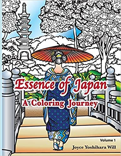 The Essence of Japan: A Coloring Journey by Joyce Will travel product recommended by Joyce Will on Lifney.