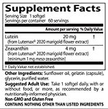 Doctor039s Best Lutein featuring Lutemax Non-GMO Gluten Free Soy Free Eye Health 20 mg 60 Softgels Discount