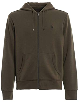 ce895d243 Amazon.com  Polo Ralph Lauren Mens Full Zip Long Sleeves Hoodie  Clothing