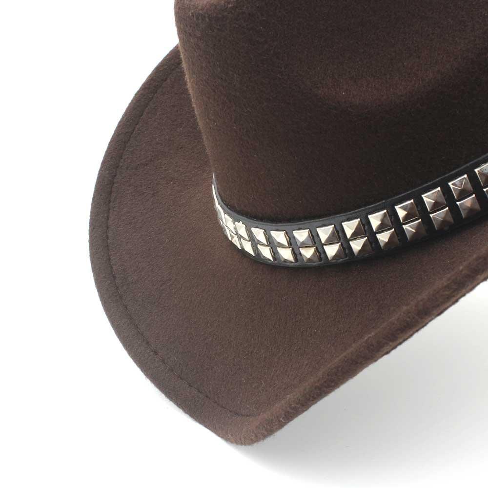 Sombrero - Sombrero de vaquero occidental de los hombres de las mujeres de  la moda con 402326ea955