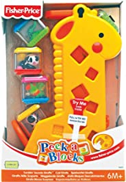 Girafa Pick a Block, Fisher Price, Mattel