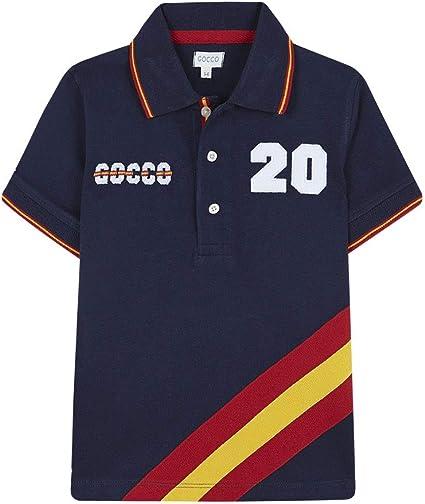 Gocco Polo ESPAÑA, Azul (Marino A4), 104 (Tamaño del Fabricante:3 ...