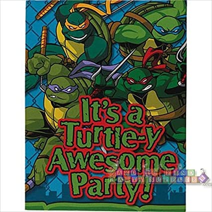 Amazon.com: TMNT Teenage Mutant Ninja Turtles Party ...
