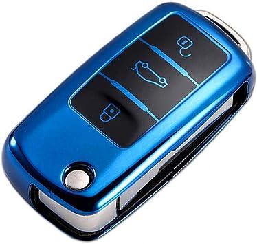 Funda para llave de coche compatible con Volkswagen Passat Golf 4 ...