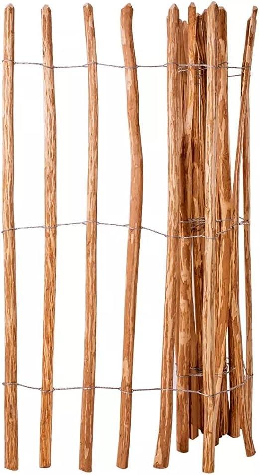 honglianghongshang Valla de estacas Madera de avellano 150x250 cmBricolaje Vallas de jardín Paneles de Vallas: Amazon.es: Hogar