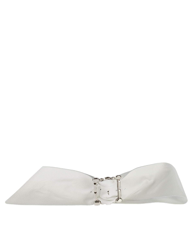 ORCIANI cintura d09860 micronwhite bianco a9e Size 80 spring summer