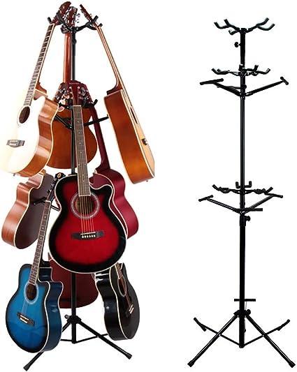 Soportes De Guitarra Nueve/MúLtiples TríPode De Doble Capa Soporte ...