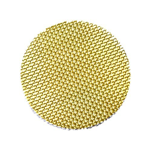 500 Beamer Premium Brass Pipe Screens 0.375'' (3/8'') Inch Size + Limited Edition Beamer Smoke Sticker