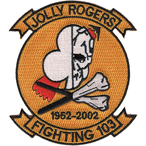 (VF-103 Patch Jolly Rogers 1952-2002)