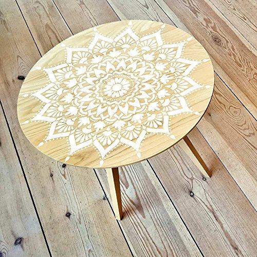 Mandala Stencil Radiance - Trendy Easy Beautiful DIY Wall Stencil Designs - Reusable Stencils for DIY Home Decor - By Cutting Edge Stencils (44'') by Cutting Edge Stencils (Image #1)
