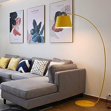 MJK Lámpara de pie, Luz de piso para sala de estar, Lámpara ...