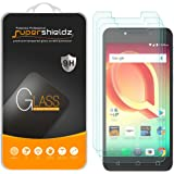 [3-Pack] Supershieldz for Alcatel A50 Tempered Glass Screen Protector, Anti-Scratch, Anti-Fingerprint, Bubble Free, Lifetime Replacement Warranty
