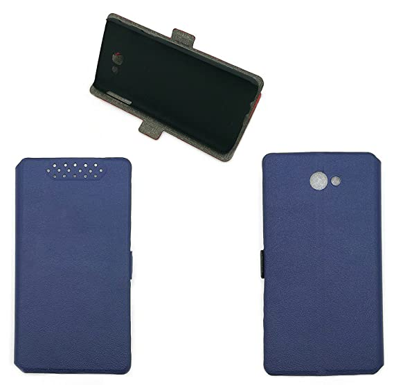 timeless design ffa15 6d57a Case for Samsung SM-J327V Galaxy J3 V 2017 XLTE / SM-J327VPP Case Cover Blue