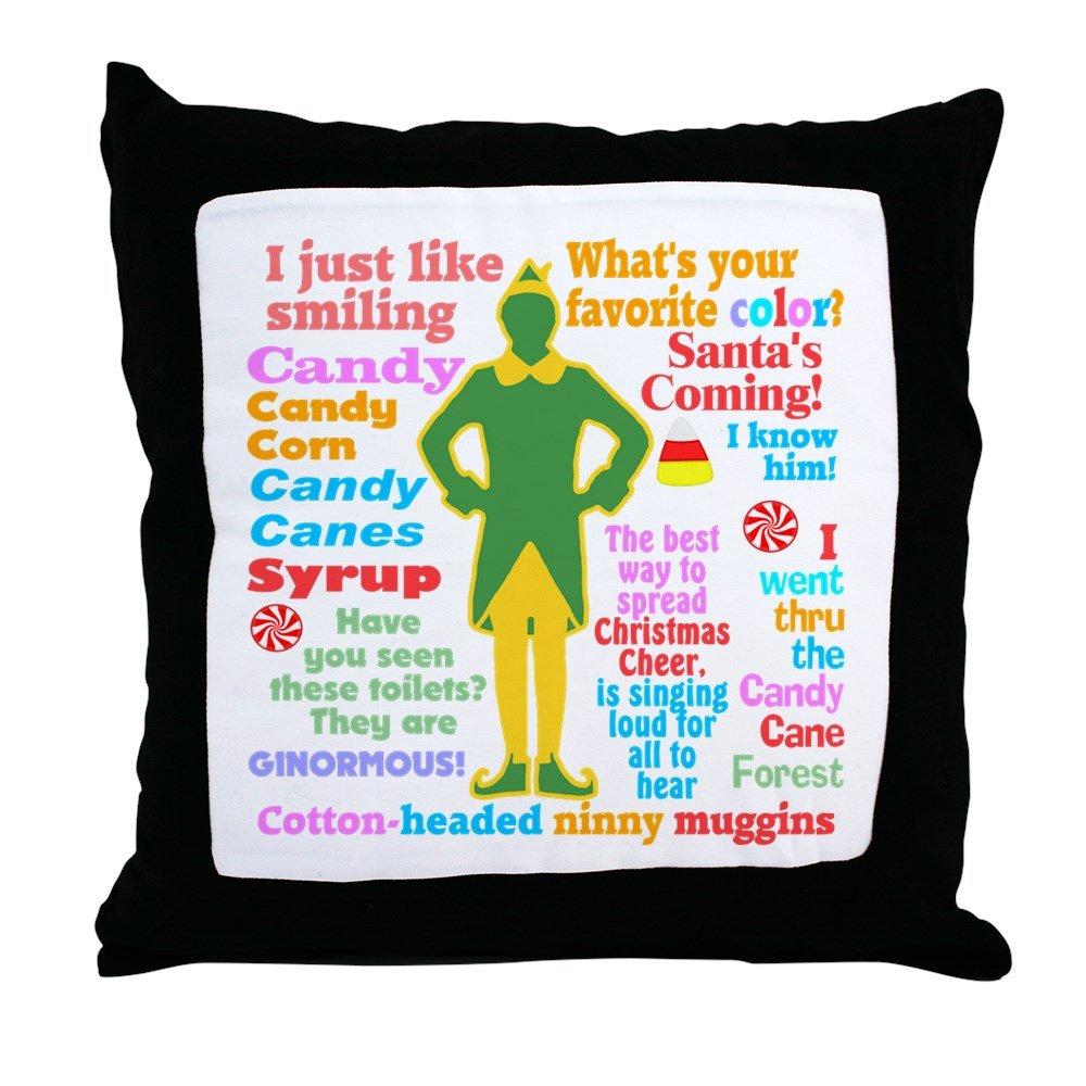 CafePress Elf Movie Quotes - Decor Throw Pillow (18''x18'')