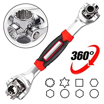 48 in 1 Socket Socket Works Spline Bolts Any Size Stand Torx-360°//