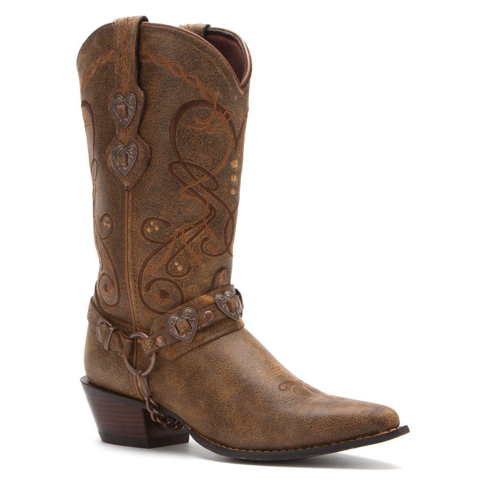 Durango Women's 6 Crush Cowgirl Boot B005SK1WEK 6 Women's B(M) US|Dark Brown 8010b2