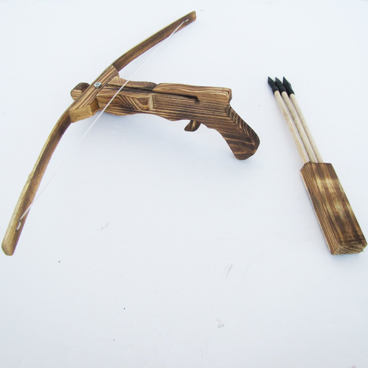 SGS Wooden Crossbow with 3 Bolts