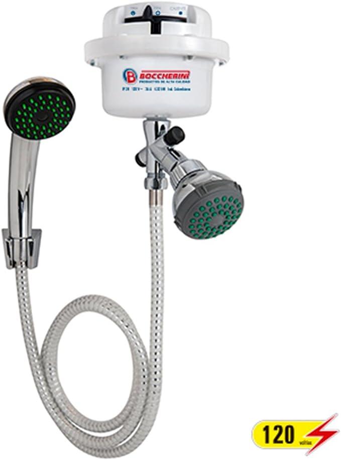 Boccherini 110V Calentador Electrico De Agua Caliente Instantaneo Con Cabeza...
