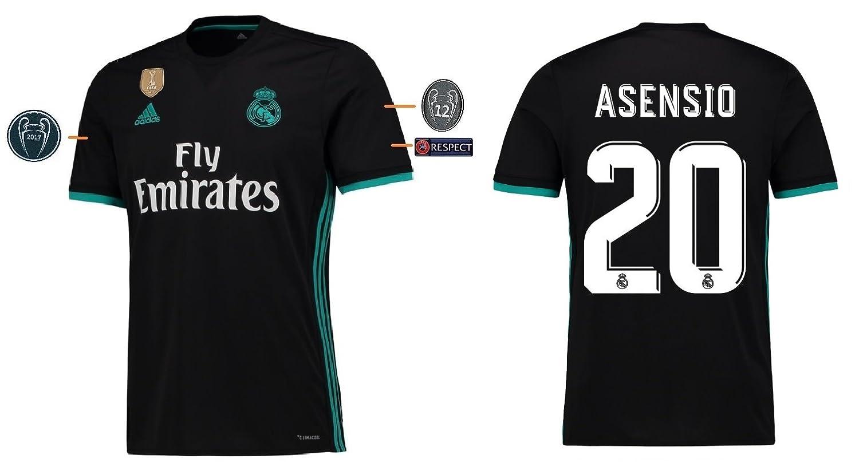 Trikot Kinder Real Madrid 2017-2018 Away UCL - Asensio 20