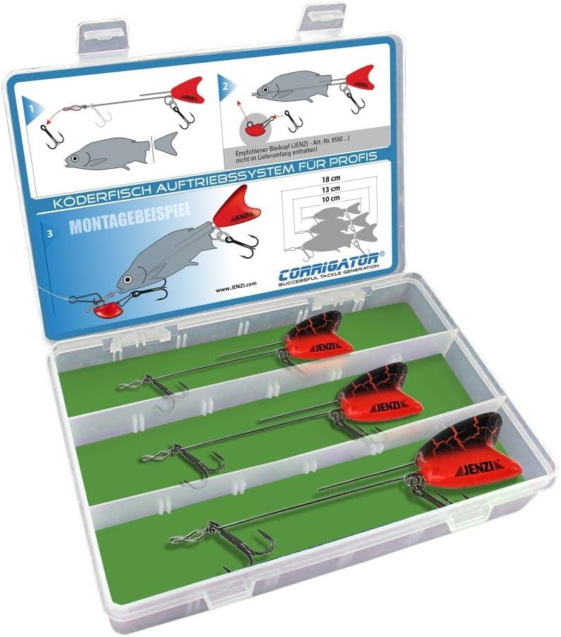 4x Auftriebskörper für Köderfisch RaubfischsystemRaubfischangeln Angelzubehör