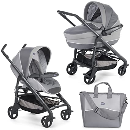 CHICCO 07079334960000 Duo Love Motion cochecito, Plata ...