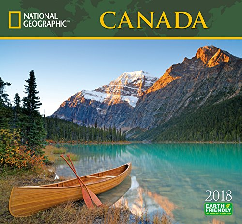 National Geographic Canada 2018 Wall Calendar