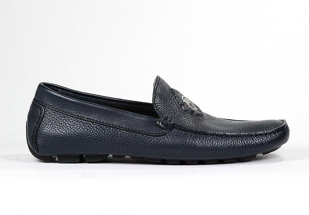 - Baldinini 2993 bluee Leather Italian Designer Men shoes