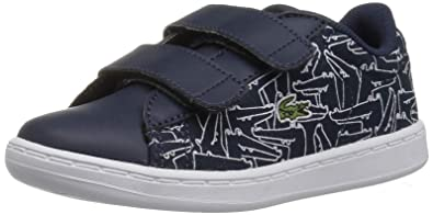 special sales best online cheapest Lacoste Baby Carnaby EVO 318 4 Sneaker, Navy White Canvas, 9. Medium US  Toddler