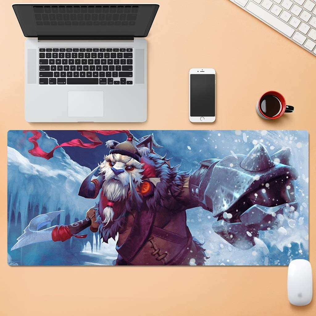 Color : F, Size : 5mm SJJSP Mouse pad Cartoon Mouse Pad Oversized Padded Game Esports Mouse Pad Waterproof Rubber