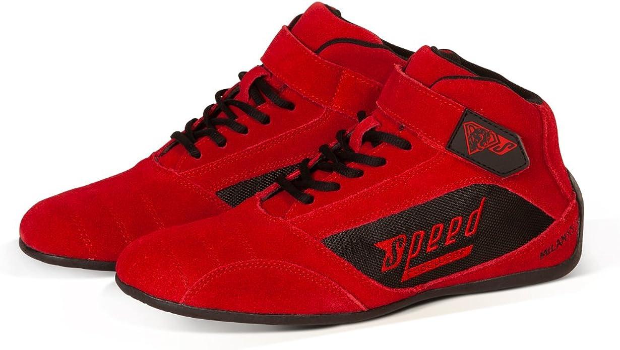 Speed Racewear Speed Kartschuhe Rot Premium Kartschuh Modell Milan Schuhe Handtaschen