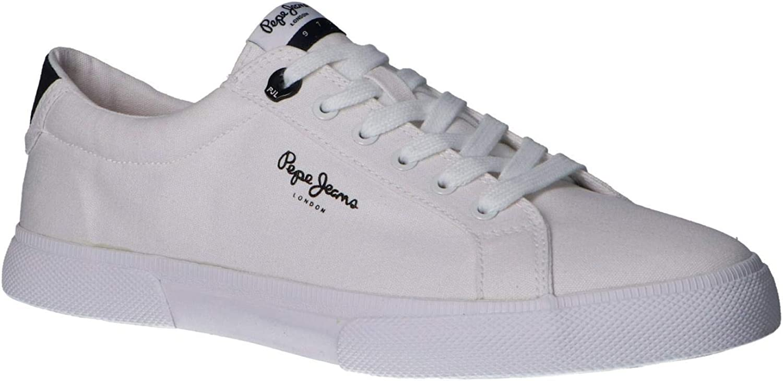Pepe Jeans Herren Sneaker Low Kenton White