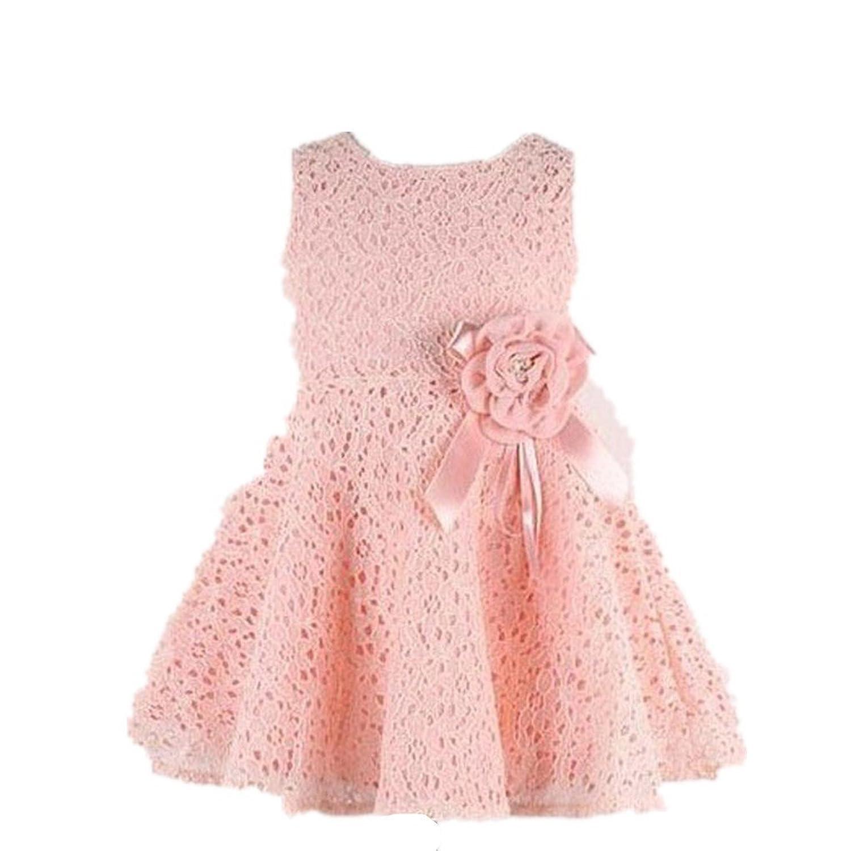 Baby bekleidung❤️JYJM Mode Mädchen Prinzessin Kleid Kleid Spitze ...