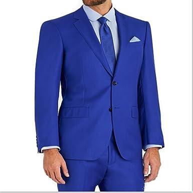 69a6a627a53 MLT Men s 2 Pieces Royal Blue Groomsmen Suits at Amazon Men s ...