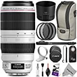 Canon EF 100-400mm f/4.5-5.6L IS II USM Lens w/ Essential Bundle - Includes: Altura Photo UV-CPL-ND4 Kit, Control and Camera Cleaning Set
